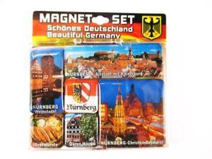 Nuremberg-Durer-Casa-Germany-Conjunto-de-Iman-Recuerdo-6-Piezas-Nuevo