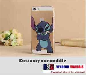 coque iphone xr disney stitch souple