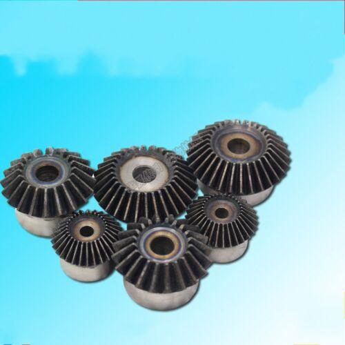 Motor Bevel Gear 1.0 Mod 25//26//28//30T 90° 1:1 Pairing Metal Bevel Gear x 1Pcs