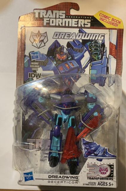 Transformers Generations dreadwing 30th Deluxe Figure/'S WING armes