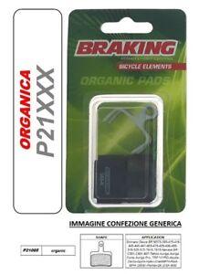 BRAKING-PASTIGLIE-FRENO-ORGANICA-MTB-CROSS-COUNTRY-Shimano-Deore-BR-M485