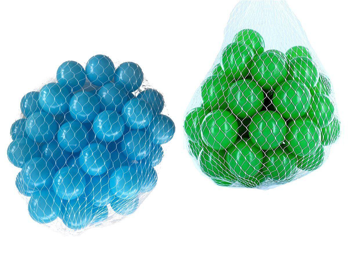 100-10000 Bagno di palline palle 55mm MIX green TURCHESE Misto colori Baby da