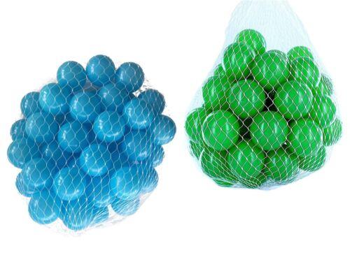 100-10000 Ball Pit Balls 55mm Mix Vert Turquoise Mélange De Couleurs Baby Balls