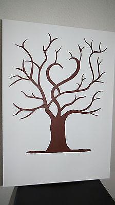 Fingerabdruck Hochzeitsbaum Wedding Tree Leinwand 70x50 Inkl 3 Fingerfarben