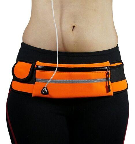 Waterproof Running Belt Bum Waist Pouch Fanny Pack Camping Sports Hiking Bag RF