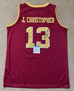Josh Christopher Signed Arizona State Sun Devils Jersey #13 Psa/Dna Coa ~Size XL