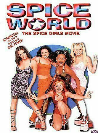 Spice World (DVD, 1998, Closed Caption) NEW