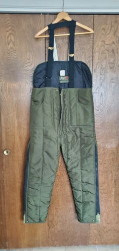 Mens Vintage REFRIGIWEAR Overall Insulated Bibs, O