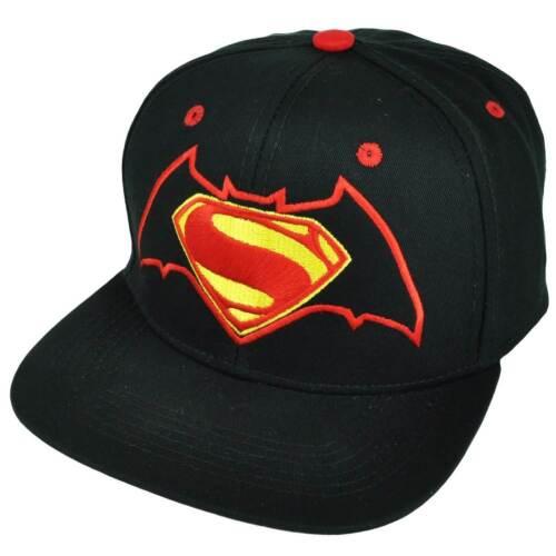 DC Comics Batman vs Superman Mixed Logo Snapback Baseball Cap