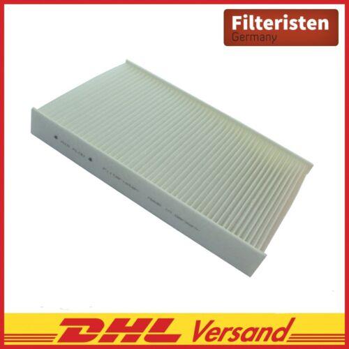 Filteristen interior filtro filtro de polen Nissan Juke pulsar c13 Renault Fluence