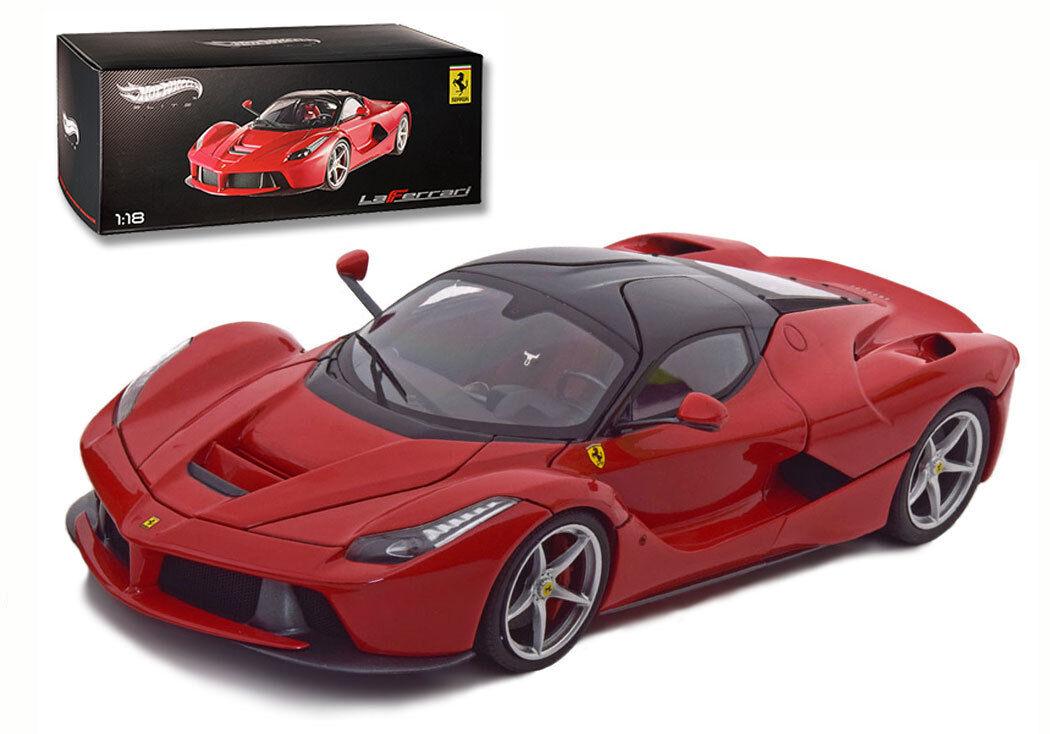 MATTEL ELITE Ferrari  LAFERRARI  Genève Salon 2013-échelle 1 18
