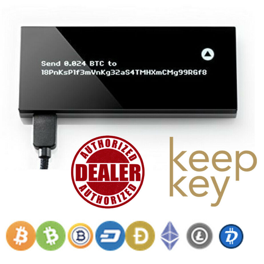 Keepkey The Simple Cryptocurrency Secure Bitcoin Wallet 2