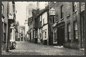 Postcard-Petworth-nr-Midhurst-Sussex-clock-shop-sign-in-Lombard-Street-1970-RP
