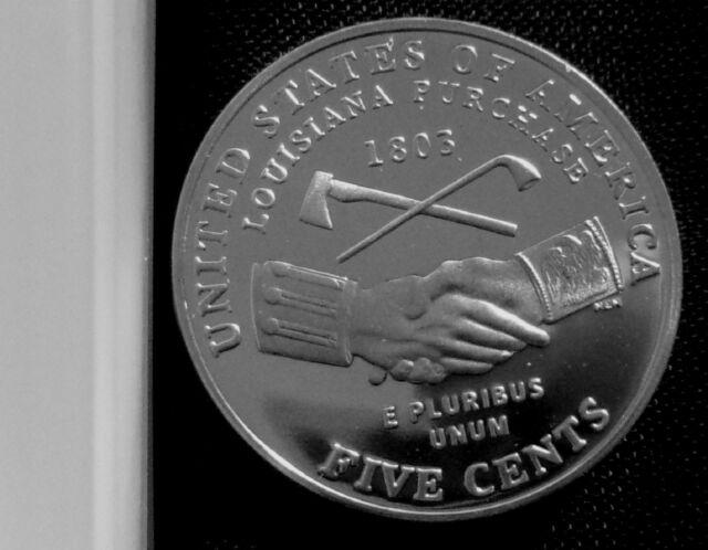2004-S 5C Peace Medal DC (Proof) Jefferson Nickel