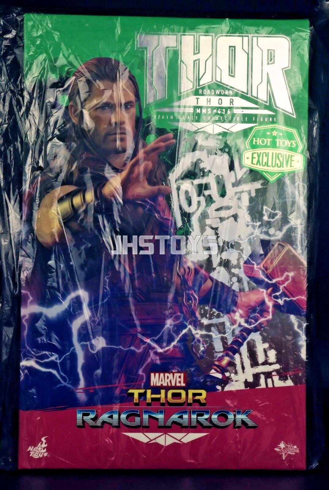 Nya heta leksaker 1  6 Thor Ragnarok Roadbown Thor MMS416 EMS