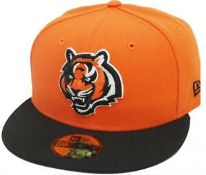 Era Bengals Cap 2tone Fitted Naranja Cincinnati Limitado Black New 59fifty qCRFdExq