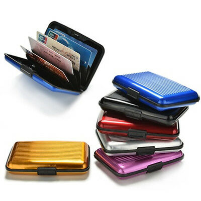 Waterproof Card Box Holder Bag Wallet Business Credit ID Card Storage Multicolor