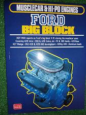 HOT ROD on Ford Boss V8 Big Block ENGINES tune modify book manual cobra wedge ++