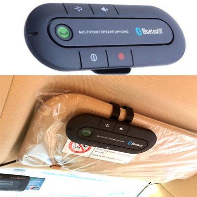 Inalámbrico multipunto Bluetooth manos libres coche altavoz clip de visSTG