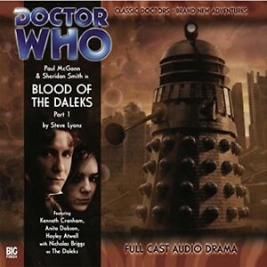 STEVE-LYONS-DOCTOR-WHO-BLOOD-OF-THE-DALEKS-PART-1-CD-NEW