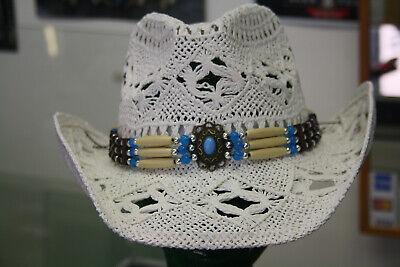 Ordentlich Strohhut Westernhut Cowboyhut Hüte Indian Weiß Westernhüte Running Bear Hut Einfach Zu Reparieren