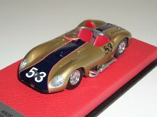 1/43 BBR Maserati 450 S from 1959 Riverside Race Way Car #53 on Red Leather base
