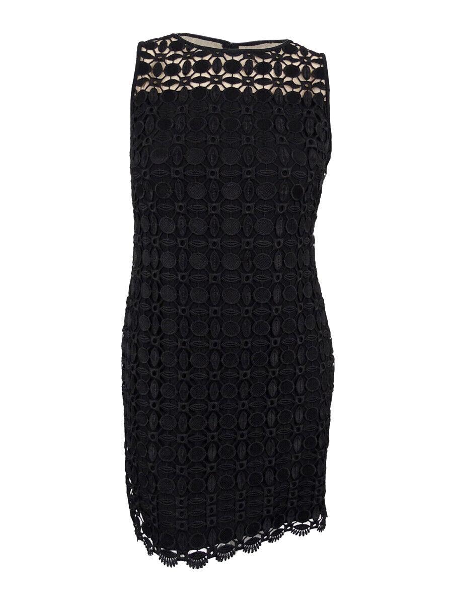 Lauren Ralph Lauren Women's Geometric-Lace Dress