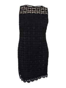 Lauren-Ralph-Lauren-Women-039-s-Geometric-Lace-Dress