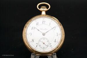 Rare Hamilton 952 16 Size 19 Jewel Railroad Grade Antique Pocket Watch