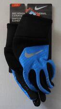 NIKE Women's Element Thermal 2.0 Run Gloves LT Photo Blue/Black/Silver M New