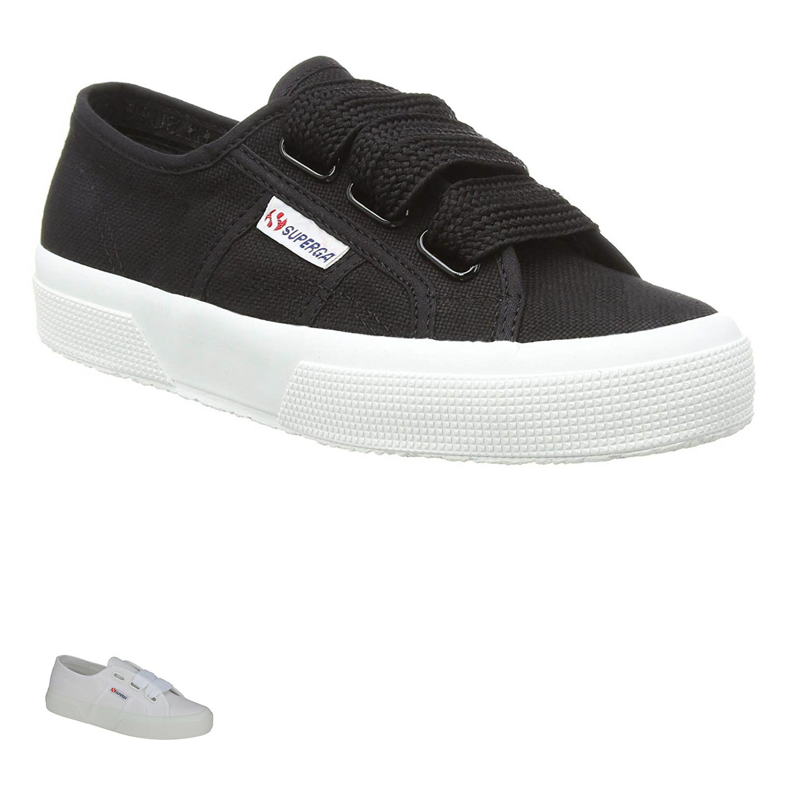 SUPERGA 2750 COTW BIG LACE Canvas Womens Mens Casual Unisex Trainers