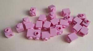 Lego Bright Pink Brick Modified 1x1, Part 87087, Element 4621554, Qty:25 - New