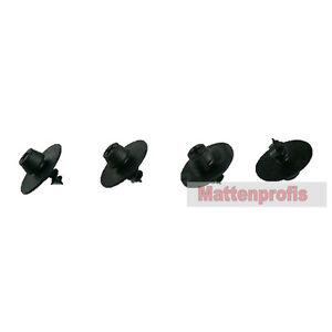 Mattenprofis Boden Befestigungen Schrauben für VW Fußmatten Gummimatten RUND 4