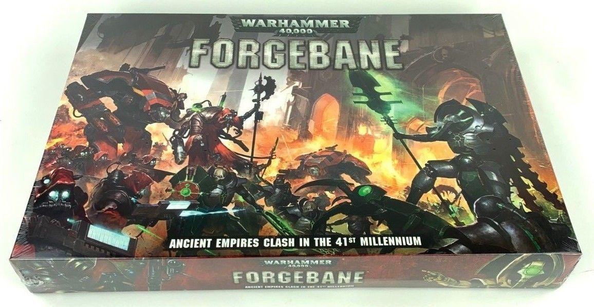 Games Workshop Warhammer 40k Forgebane Boxed Game New Sealed 40000 Forge Bane