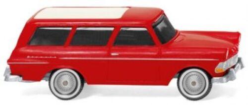 1//87 Wiking Opel Rekord 61 Caravan rot 0071 49
