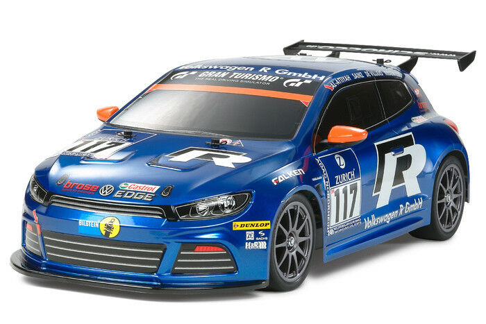 New Tamiya VW Scirocco GT24-CNG Body Parts Only For Most 1 10 TT02 TT01 TL01