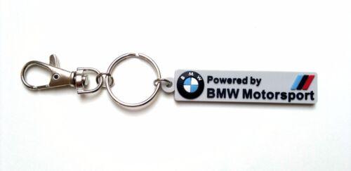 BMW M Keychain 3 5 series M POWER M3 M5 Keyring key fob MOTORSPORT badge Z4 E39