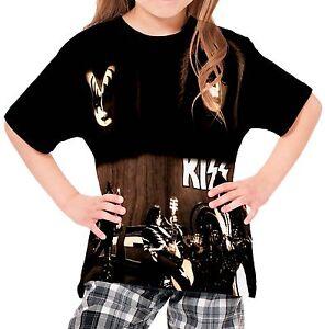 Kiss Boys Kid Youth T-Shirt Tee Age 3-13 New