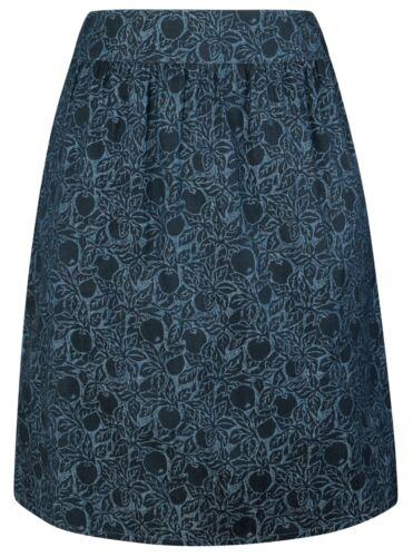Seasalt Propagate Skirt in Crabapple Indigo UK10 EU38 Sales Sample SAVE!