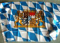 1 Fahne Bayern mit Löwen für Haus & Garten 60x90 #2(Fahnen Hißfahne Fahnenmast)