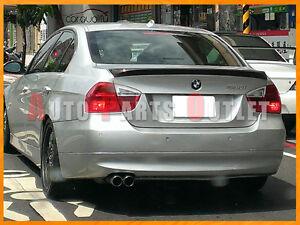 BMW E90 323i 330i 335i 4Dr Sedan Carbon Fiber OE Trunk Spoiler