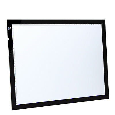 Ultra-thin A3 LED Light Art Craft Animation Drawing Tracing Board Table DC 12V