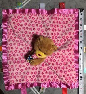 Taggies Baby Security Blanket Lovey Soothe Me Teddy Bear