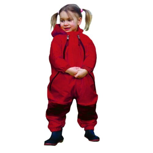 Tuffo Muddy Buddy Coveralls Red 2T or 5T NEW