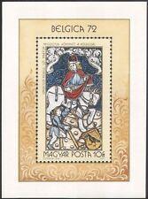 Hungary 1972 Belgica 72/Saint Martin/St/Horse/Transport/StampEx 1v m/s (n45673)