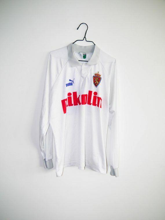 Camiseta vintage MATCH WORN  20 Real Zaragoza RECOPA 1994 1995