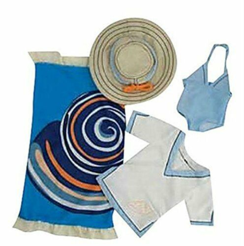 Manhattan Toy Lilydoll Beach Bound Swimsuit Outfit Doll Clothing Set New