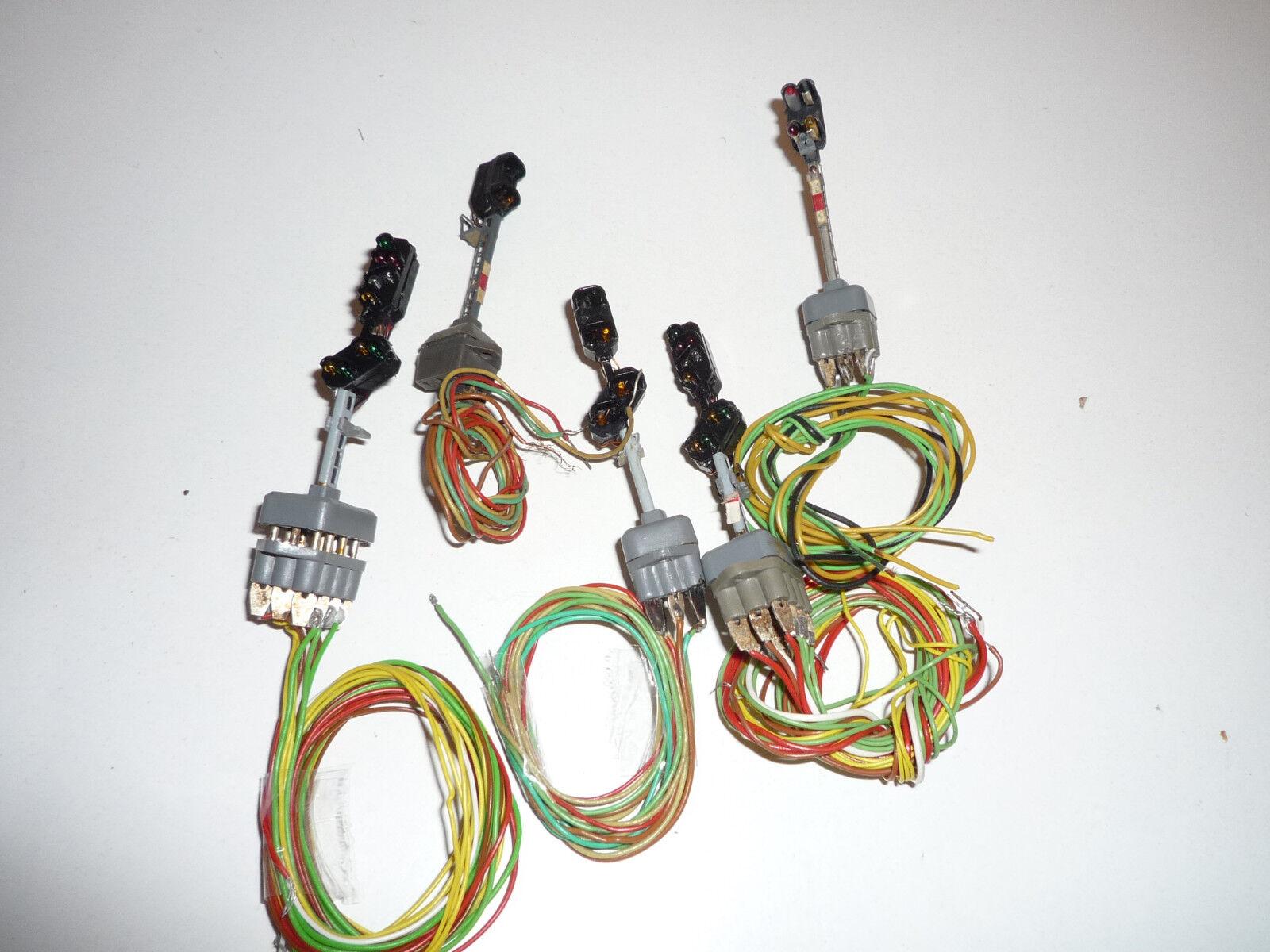 Brawa h0-various signals 5 piece-x311x