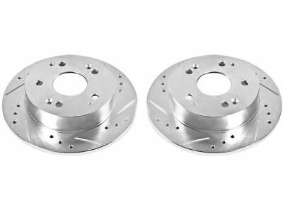For 2002-2006 Acura RSX Brake Rotor Set Rear Power Stop ...