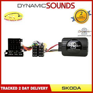 CTSSK001-2-Controle-Volant-Adaptateur-pour-Skoda-Superb-2001-2008